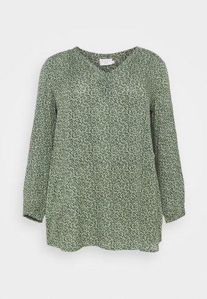 LIANA TUNIC - Long sleeved top - hedge green