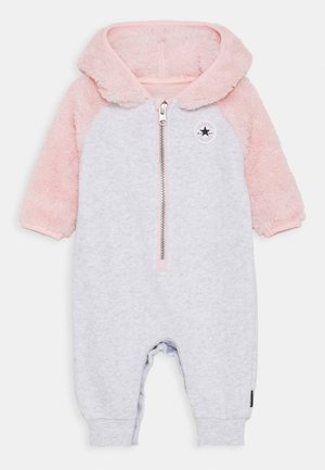 Tuta jumpsuit - lunar rock heather/pink