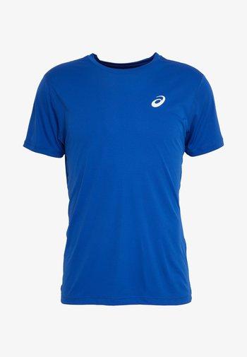 SILVER SS - Jednoduché triko - blue