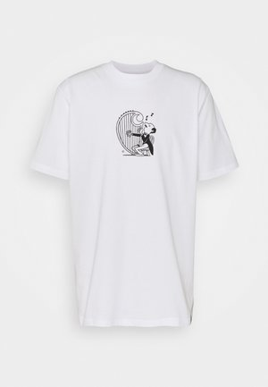 HARP - Print T-shirt - white/black