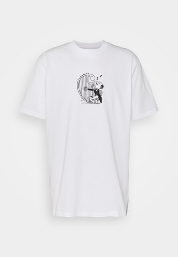 HARP - Print T-shirt - white/black