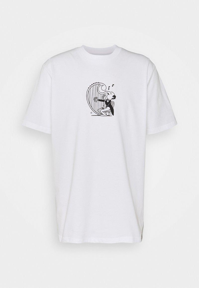 Carhartt WIP - HARP - Printtipaita - white/black