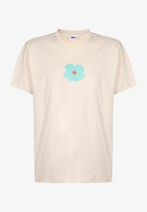 Print T-shirt - sago