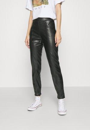 NMDUST LEGGING - Leggings - Hosen - black