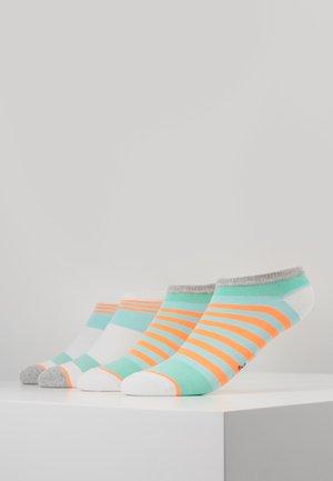 WOMEN FASHION SNEAKER 4 PACK - Socks - blue tint