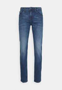 TOM TAILOR DENIM - SLIM PIERS BLUE STRETCH  - Slim fit jeans - used light stone blue denim - 3
