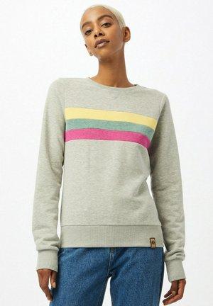 IT IS WHAT IT IS - Sweatshirt - graumeliert