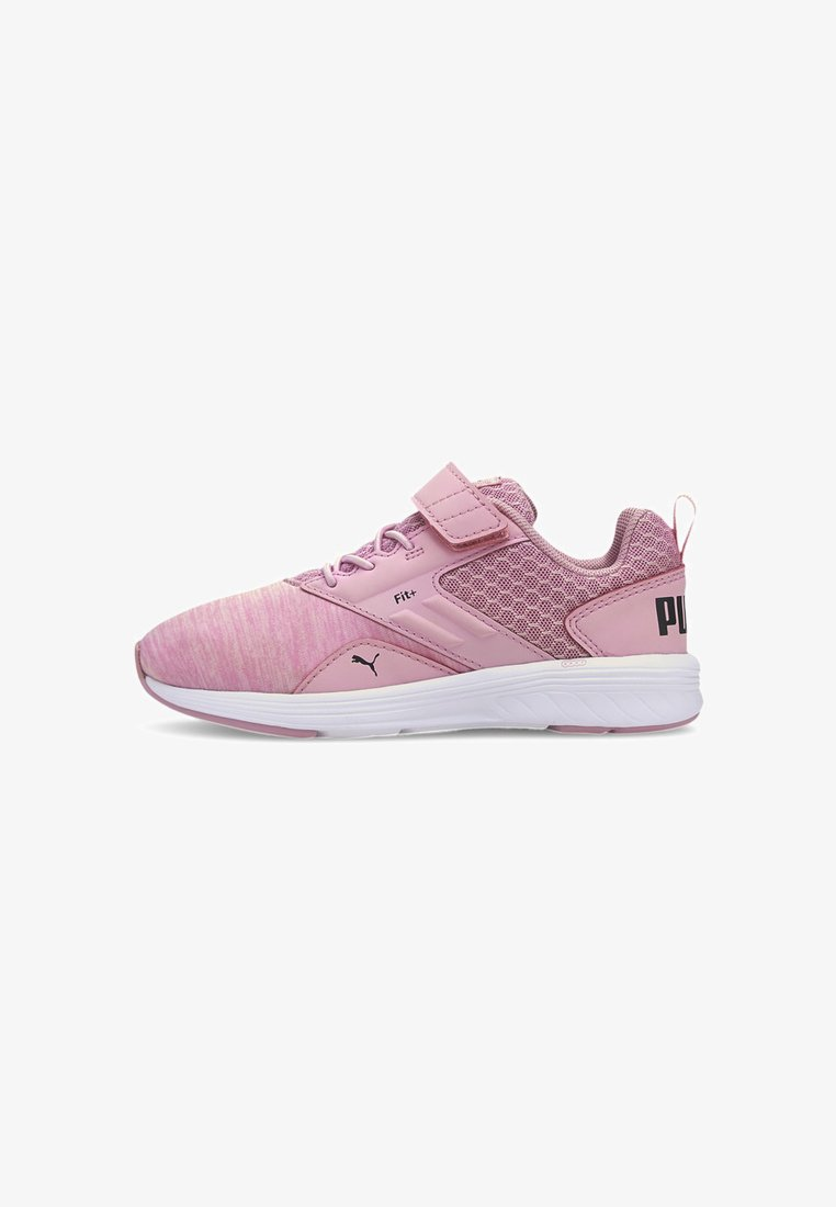 Puma - NRGY COMET PRESCHOOL UNISEX - Trainers - pale pink-black-white