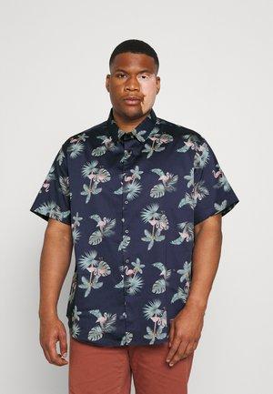 JENSON PRINT - Camicia - navy