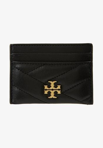 KIRA CHEVRON CARD CASE - Wallet - black/gold