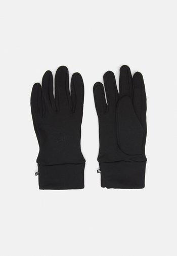CAPTURE UNDERGLOVES UNISEX - Gloves - black