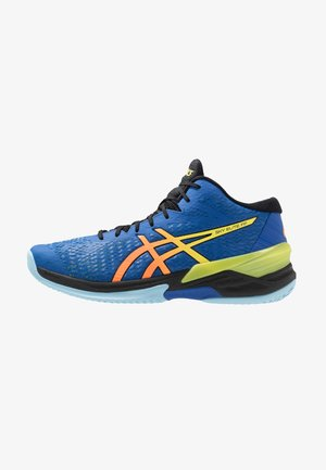 SKY ELITE FF MT - Volejbalové boty - blue/sour yuzu