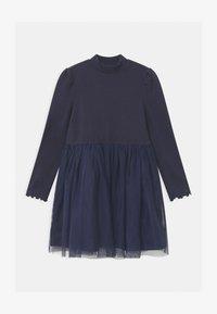GAP - GIRL  - Žerzejové šaty - navy uniform - 0