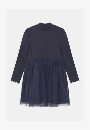 GIRL  - Jersey dress - navy uniform