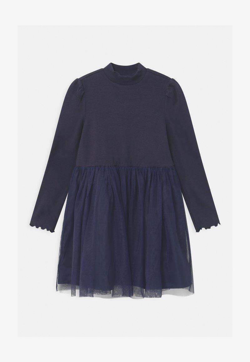 GAP - GIRL  - Žerzejové šaty - navy uniform