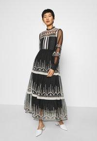 Derhy - FAIENCE ROBE - Maxi dress - black - 0