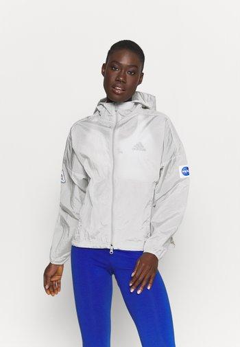 Training jacket - grey two