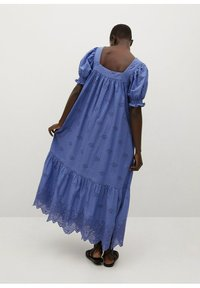 Mango - Vestido largo - blue - 1