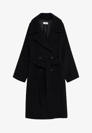 TRINI - Classic coat - schwarz