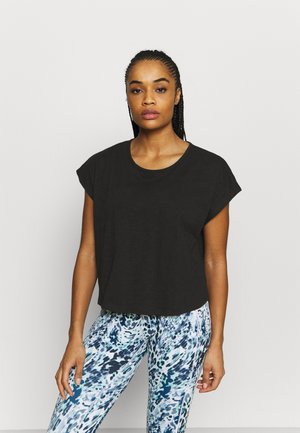 MIND OVER BODY TEE - T-paita - black