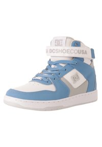 DC Shoes - High-top trainers - white/lt blue - 1