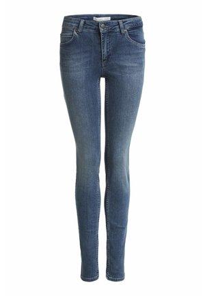 BAXTOR  - Slim fit jeans - darkblue denim