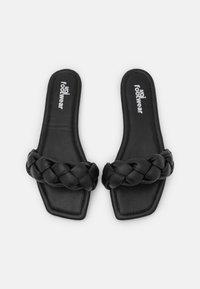 Koi Footwear - VEGAN TOZEN PADDED SLIDERS - Mules - black - 5