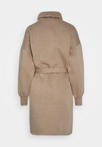 ONLY - ONLKYLIE HIGHNECK BELT DRESS - Day dress - beige - 1