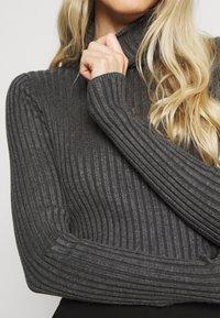 Soyaconcept - DOLLIE - Pullover - dark grey melange - 5