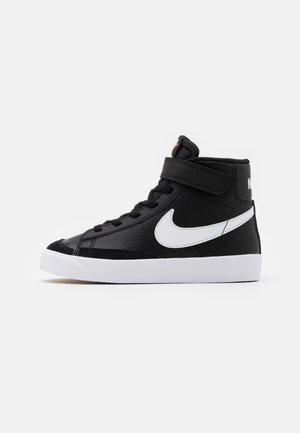 BLAZER MID '77 UNISEX - Sneakersy wysokie - black/sail/white/total orange