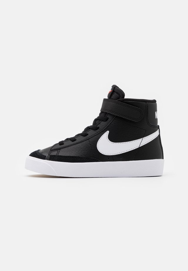 BLAZER MID '77 UNISEX - Sneakers hoog - black/sail/white/total orange