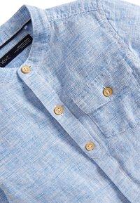 Next - BLUE LONG SLEEVE LINEN MIX GRANDAD SHIRT (3MTHS-7YRS) - Shirt - blue - 2