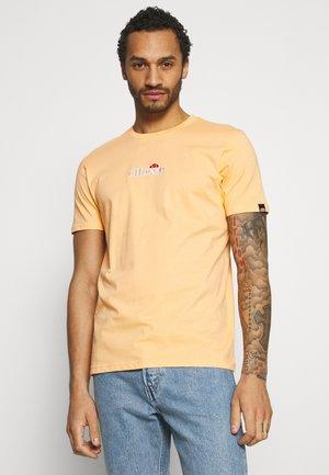 MAVOZ - Print T-shirt - light orange