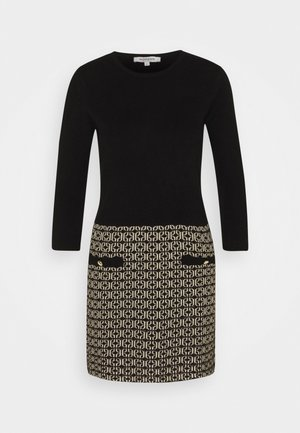 Jumper dress - jaquard dore