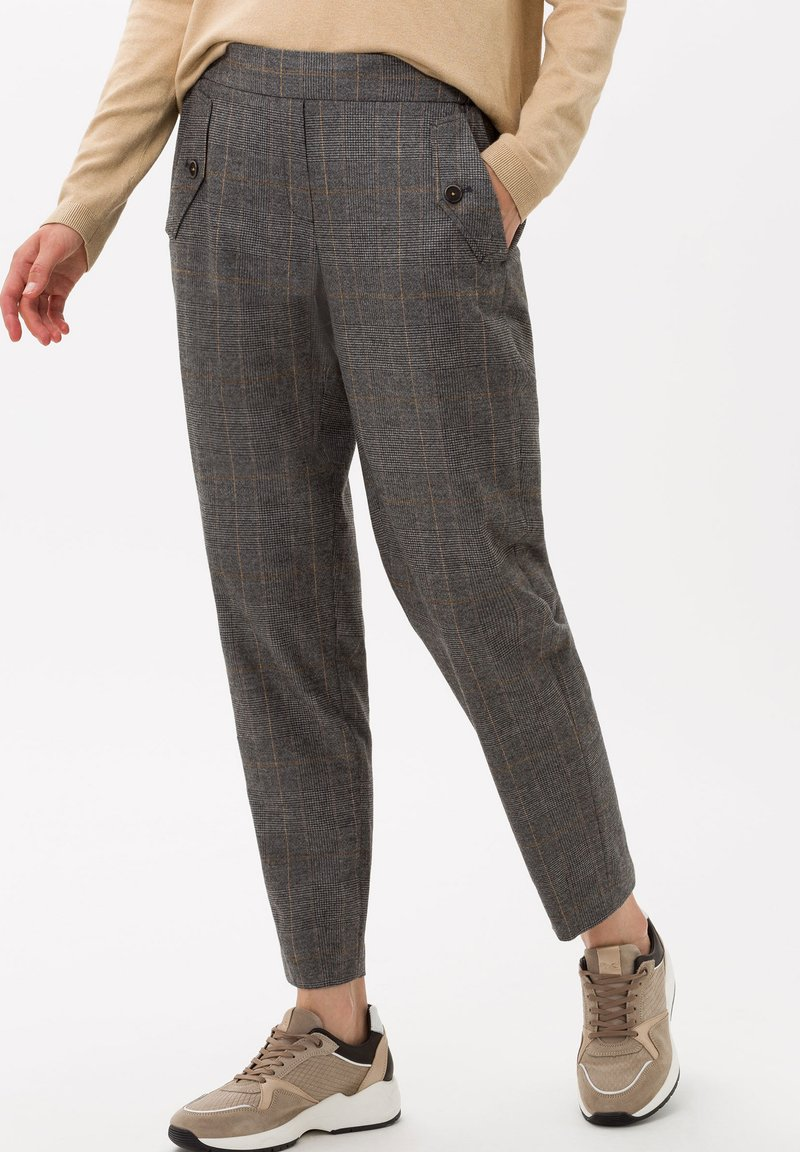 BRAX - STYLE MAREEN S - Trousers - grey