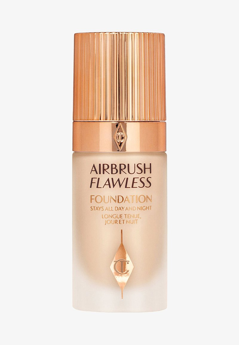 Charlotte Tilbury - AIRBRUSH FLAWLESS FOUNDATION - Foundation - 4 neutral