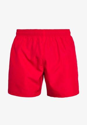 SEA WORLD LOGO - Shorts da mare - rosso/silver