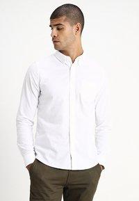 Burton Menswear London - OXFORD      - Košile - white - 0