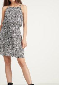 Tezenis - Day dress - bianco st.zebra - 0