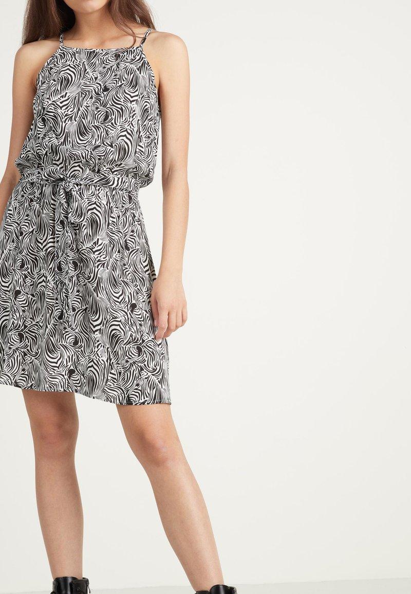 Tezenis - Day dress - bianco st.zebra