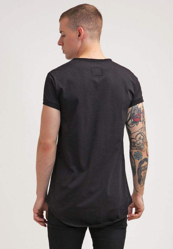 Tigha MILO - T-shirt basic - black/czarny Odzież Męska ZBYG