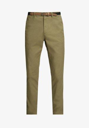 SHHYARD  - Kalhoty - dark camel