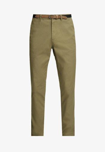 SHHYARD  - Pantaloni - dark camel