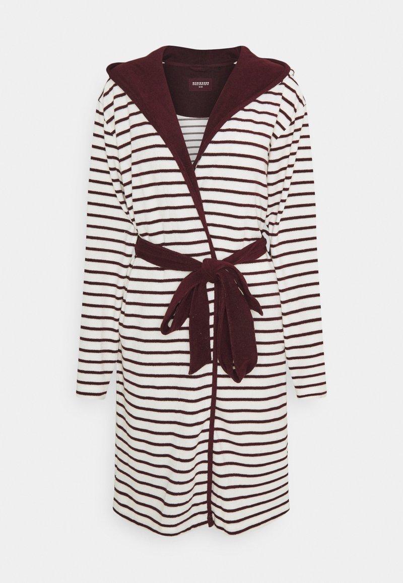 Schiesser - Dressing gown - burgund