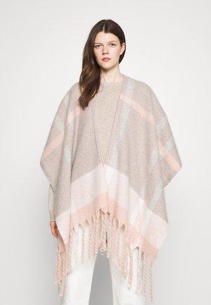 ISLA SERAPE - Cape - pink/grey