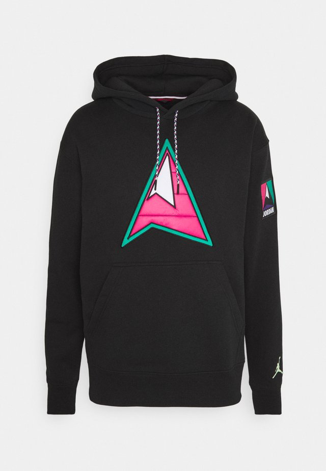 MOUNTAINSIDE - Hoodie - black/barely volt