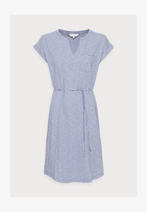 ILIMA - Sukienka z dżerseju - gray blue stripe
