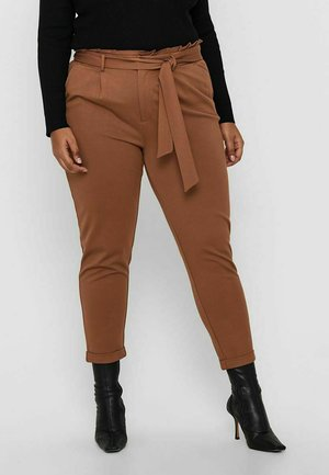 PAPERBAG - Trousers - tobacco brown