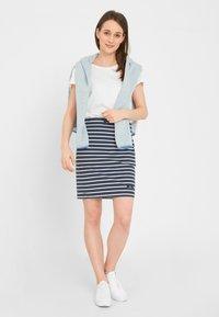 Sea Ranch - Pencil skirt - navy pearl breton - 1