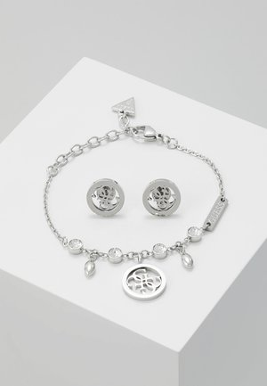 BOX SET - Boucles d'oreilles - silver-coloured